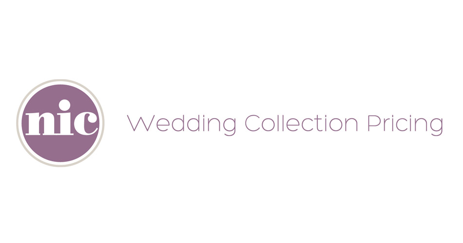 nicstudio wedding collection pricing